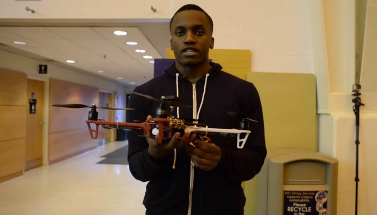 The Breeze: JMU Robotics Club & AR Drone Project