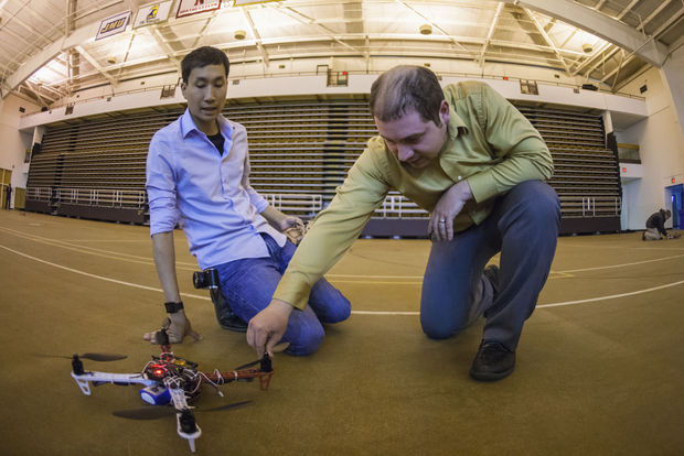 The Breeze: Student-Built Drones