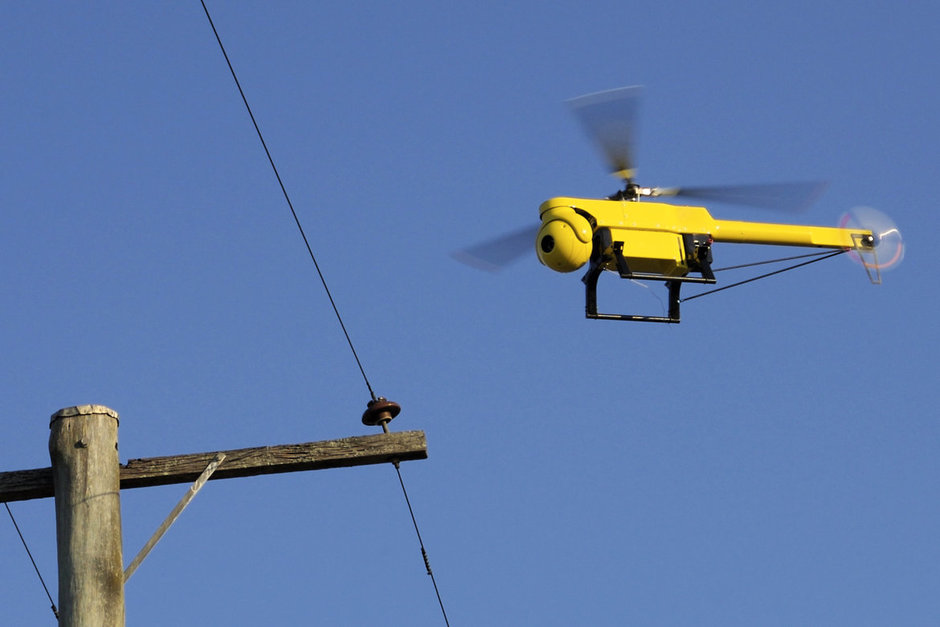 Virginia Utility to Expand Use of Drones in Power Line Inspections   Government Technology