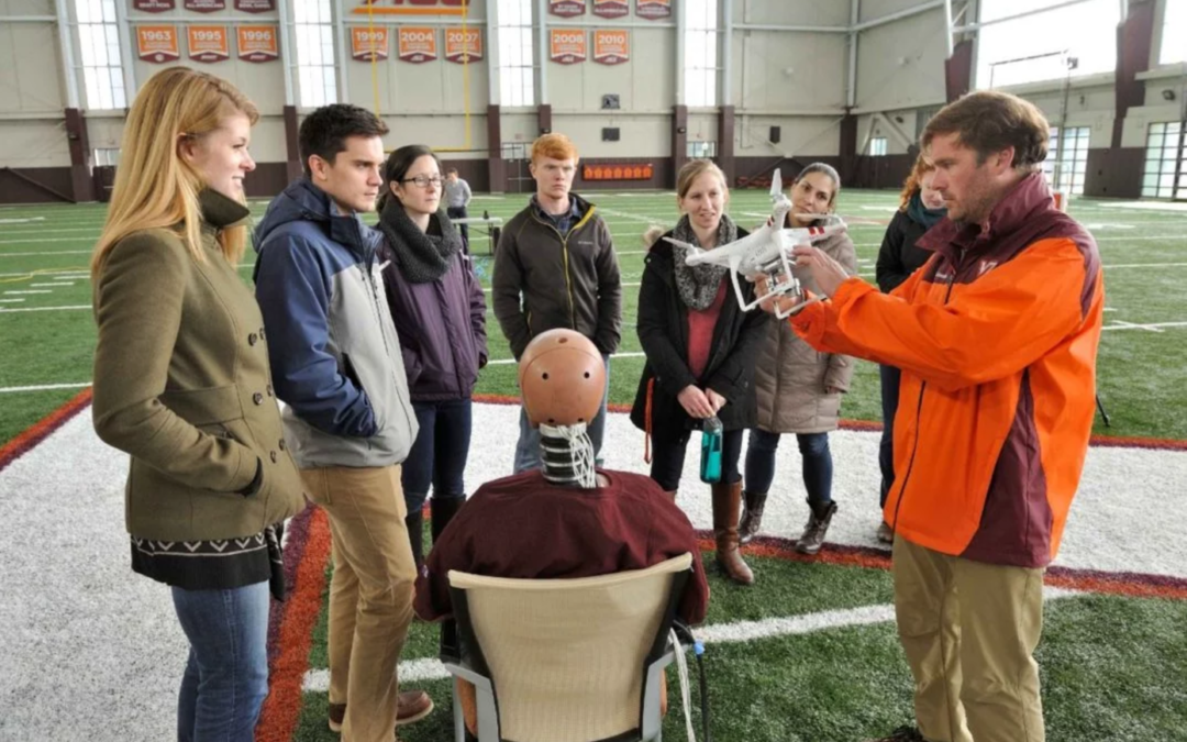Virginia Tech assessing injury risk from unmanned aircraft | sUAS News