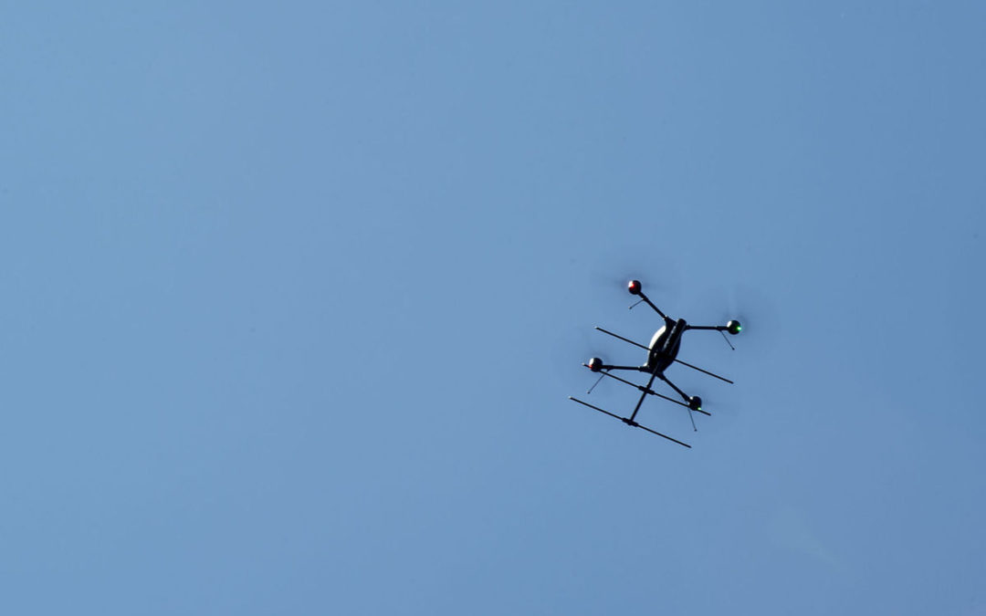 Law enforcement sees potential of drones at demonstration in Lynchburg |  News Advance