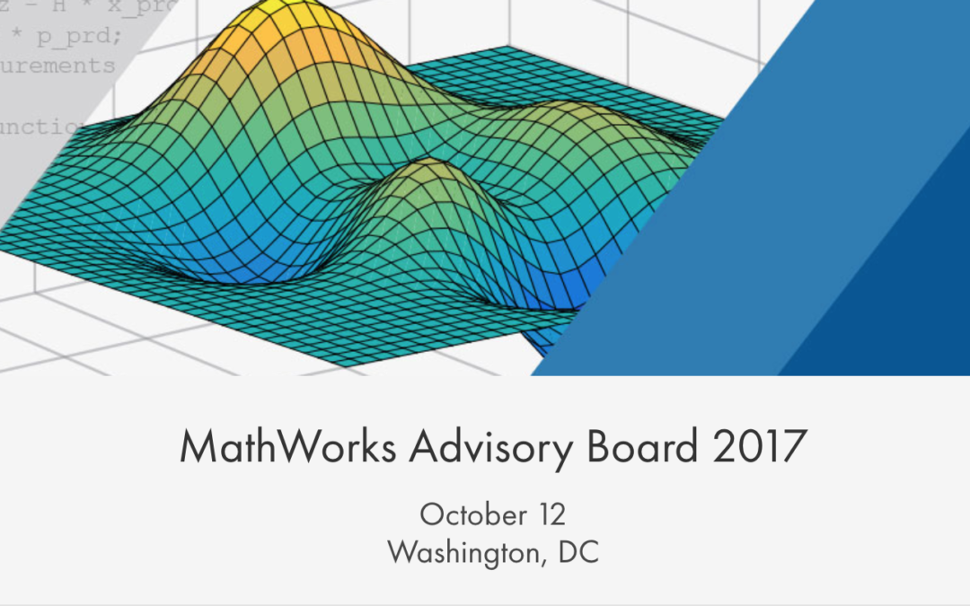 MathWorks Advisory Board 2017