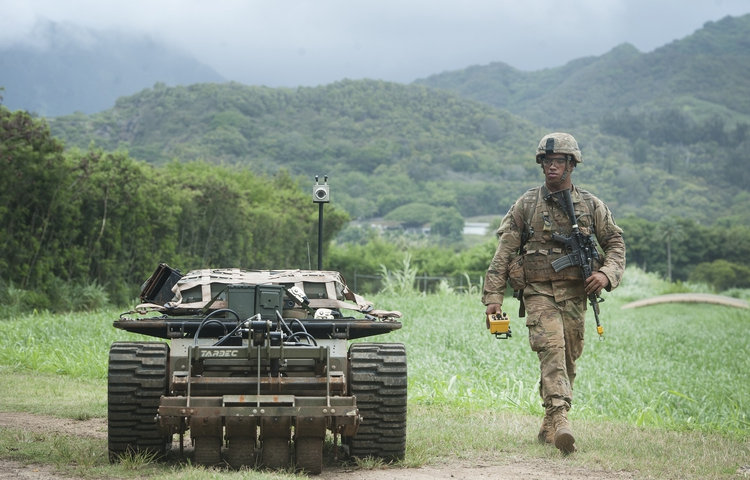 The Army is working on combat-deployable robots | DefenseNews