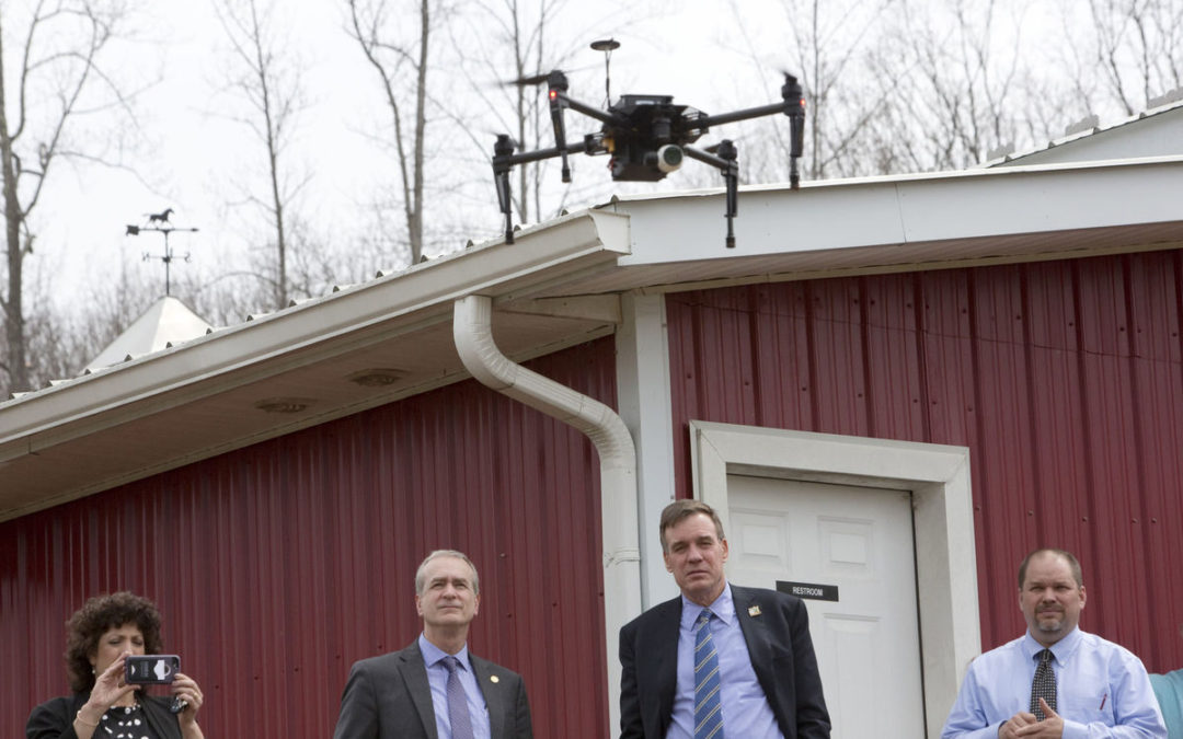 Sen. Mark Warner highlights benefits of drone use in visit to Ferrum | The Roanoke Times